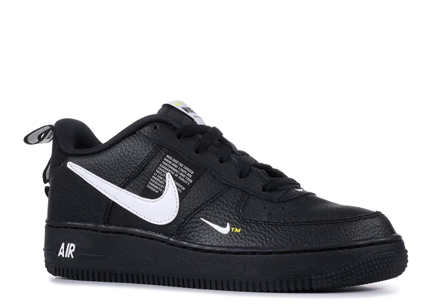 5fb511d88c416 Amazon.com | Nike Air Force 1 Lv8 Utility Big Kids Style : AR1708-001 Size  : 6 M US | Sneakers