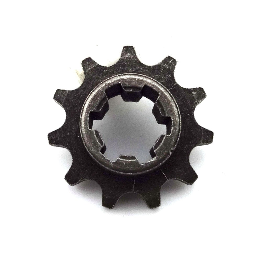 Race-Guy T8F 11 Tooth Front Clutch Drum Gear Box Pinion Chain Sprocket Gear For 2 Stroke 47cc 49cc Chinese Minimoto Dirt Bike