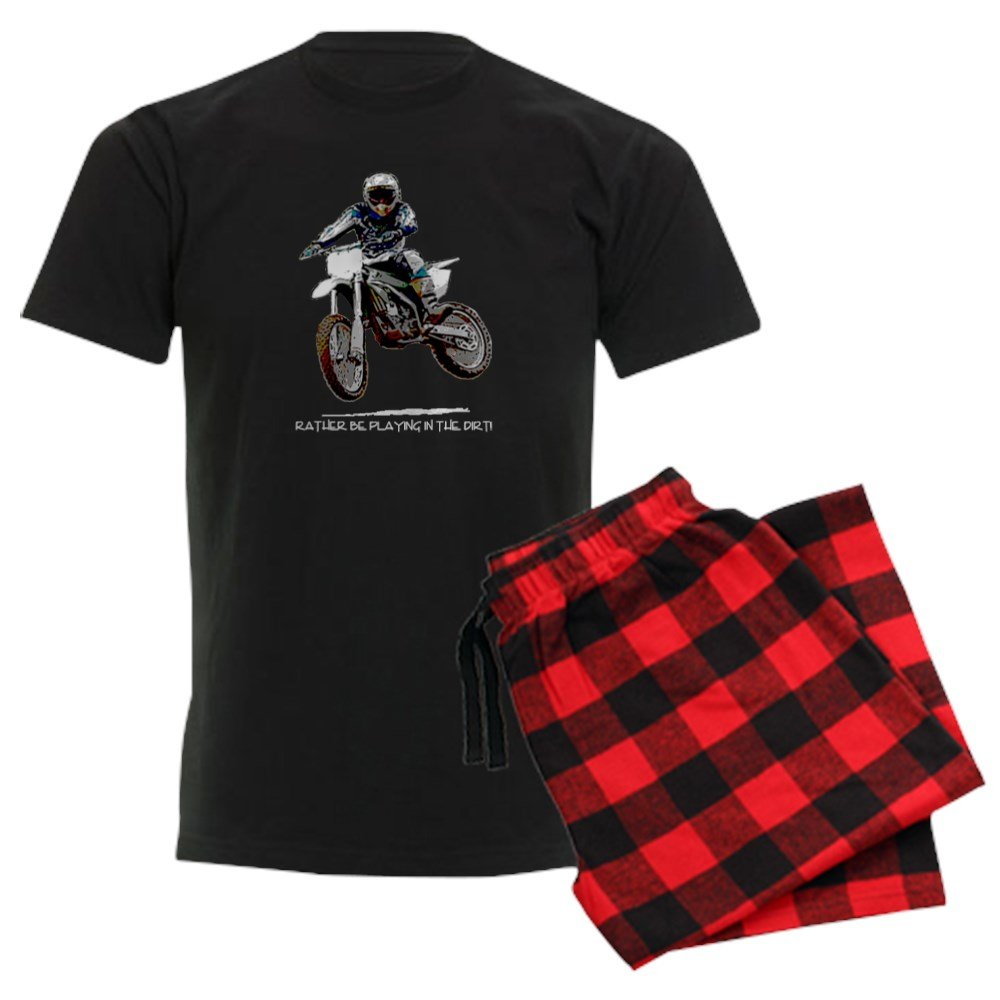 CafePress Rather be Playing in The Dirt Mens Pajama Set