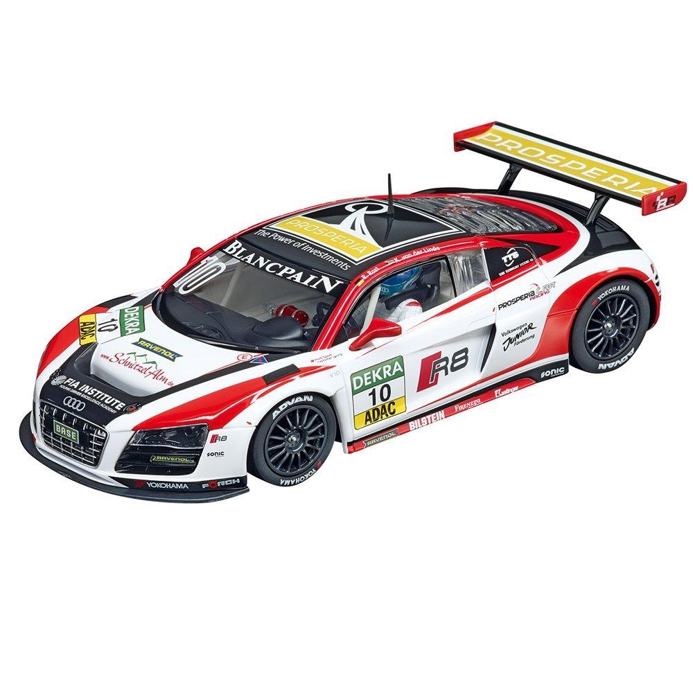 Carrera Digital 124 - Coche de Juguete Audi R8 LMS Prosperia C.ABT Racing, No.10, Escala 1:24 (20023808)