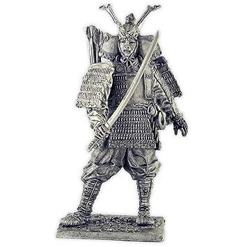 Amazon.com: Escultura de metal Samurai. Colección 2.126 in ...
