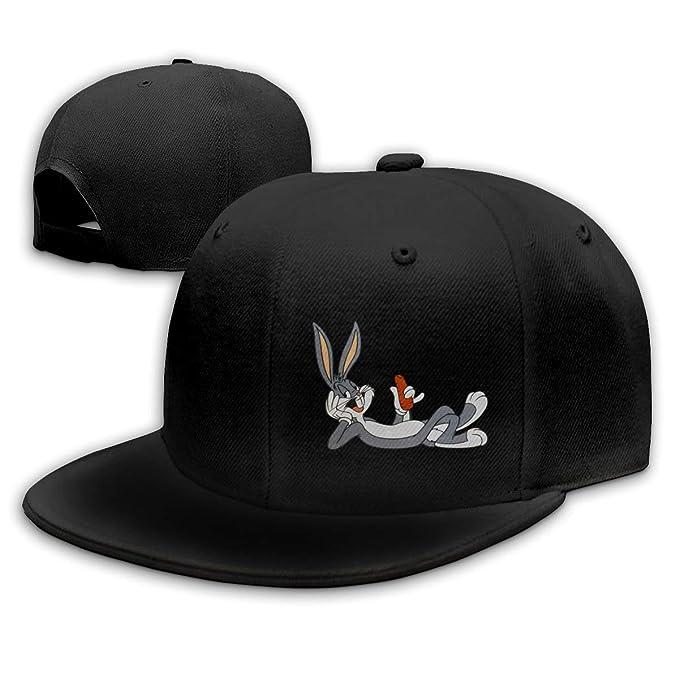 d58234657 Amazon.com: Xuforget Bugs Bunny Looney Tunes Adjustable Baseball Cap ...