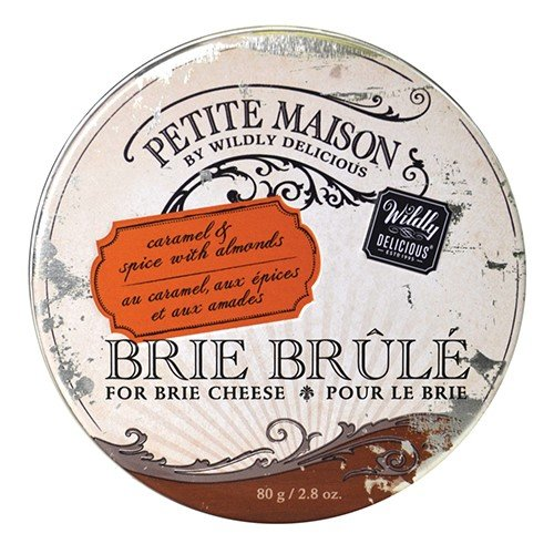 Brie Brule for Brie Cheese - Caramel Spice with Almonds (2.8 ounce)