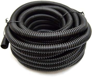 "of each Polyethylene Tubing 30 FT 1//4/"" 3//8/"" 1//2/"" Split Wire Loom Conduit 10 Ft"