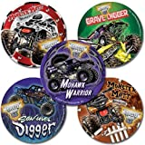 SmileMakers Monster Jam Stickers - 75 per Pack Inc