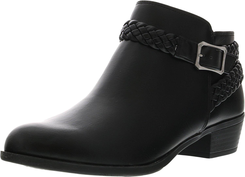 LifeStride Women's Adriana Ankle Bootie B075VR5D2Y 5.5 B(M) US|Black