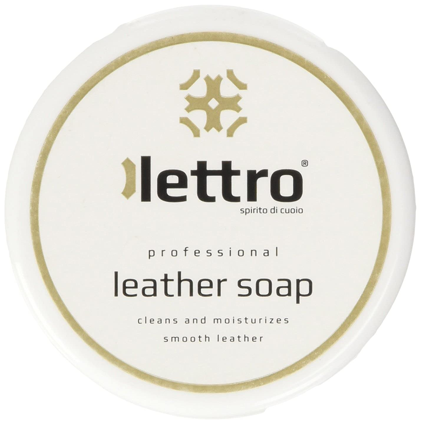 Lettro Leather Soap Betún y reparación de zapatos, Transparente (Neutral), 100.00 ml L0007
