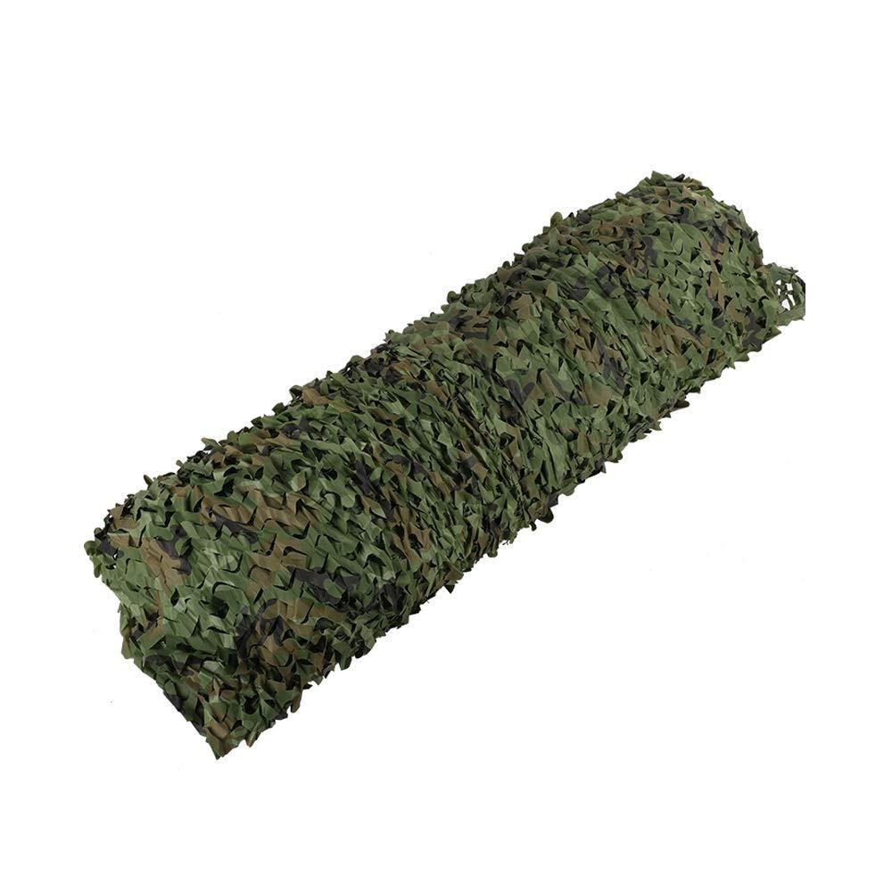 2x3m Yongfeng Camouflage Net Sonnencreme Verdickung Mountain Grüning Anti-Satelliten-Luftnetz Abdeckung Dschungel Camouflage Tuch Innendekoration Outdoor-Jagd, in vers edenen Größen erhältlich Camping-S
