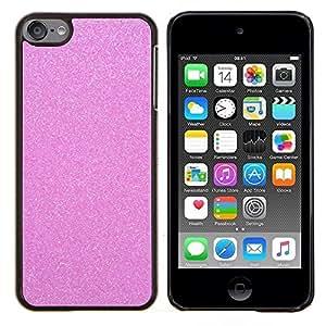 TECHCASE---Cubierta de la caja de protección para la piel dura ** Apple iPod Touch 6 6th Touch6 ** --Blanca Nieve Invierno Bling