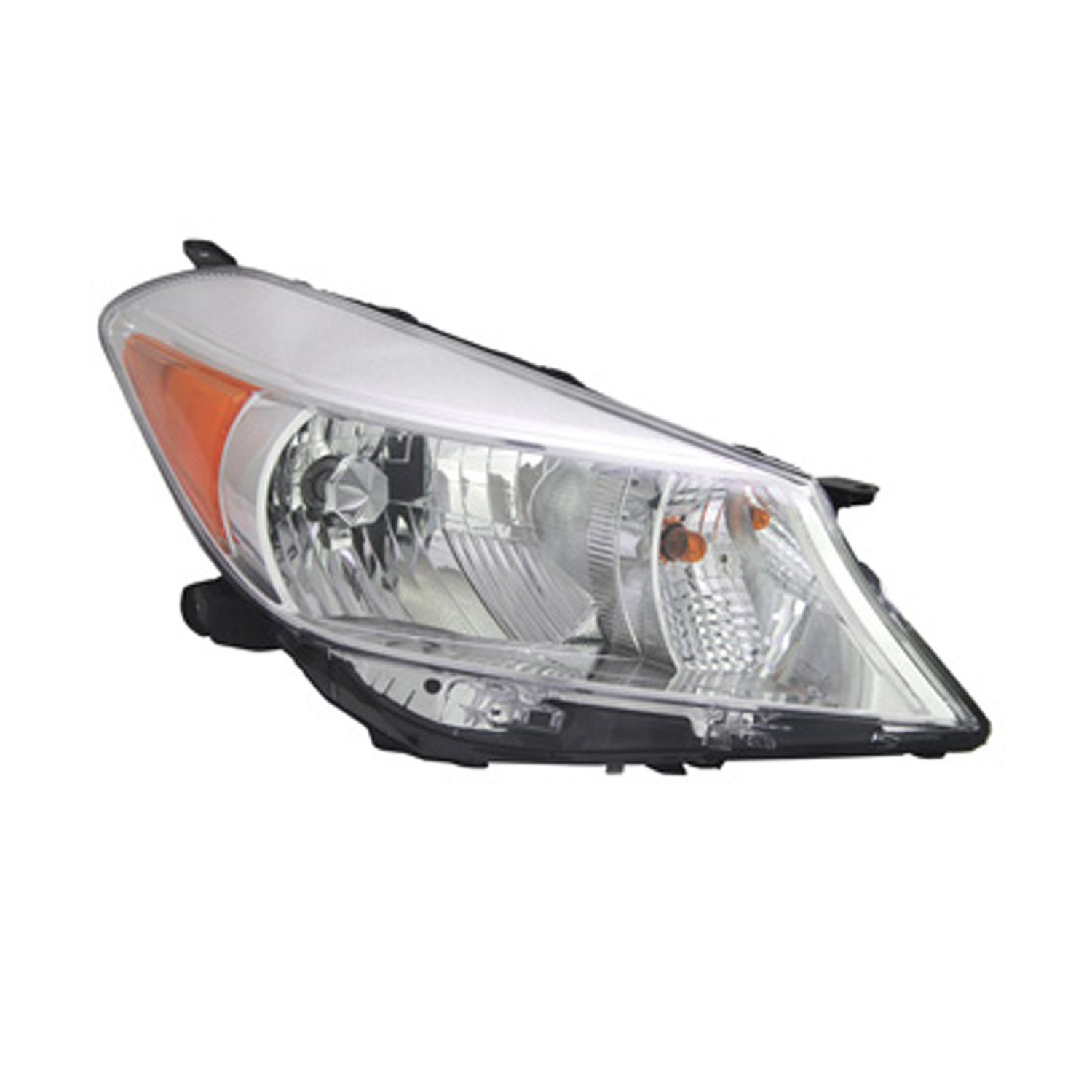 PartsChannel TO2519132OE OE Replacement Headlight Assembly
