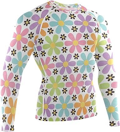 LUPINZ Camisa deportiva de manga larga con patrón de ...
