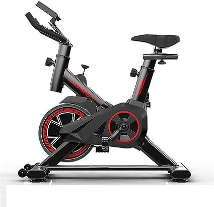 Lwieui Bicicleta de Spinning Bicicletas de Interior Bici de la Correa de accionamiento fijos, Bicicletas de Ejercicio con LED Bicicletas de Ejercicio (Color : Black, Size : 85x45x102cm): Amazon.es: Hogar
