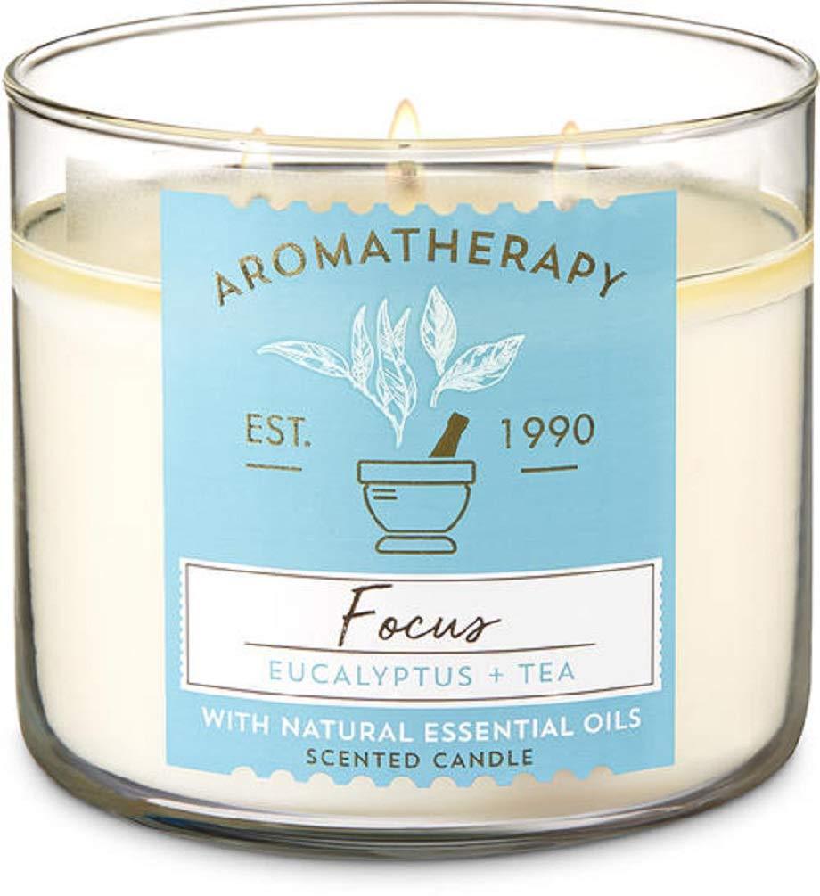 Bath and Body Works Aromatherapy Eucalyptus Tea 3-Wick Candle by Bath & Body Works