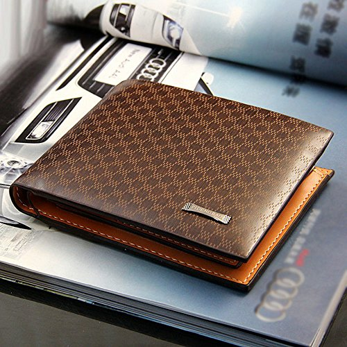 New fashion PU Leather Card Holder Wallet Pocket Card Clutch ID Credit Bifold Purse ,Very Fashion and Good quality (Card Credit Floor And Decor)
