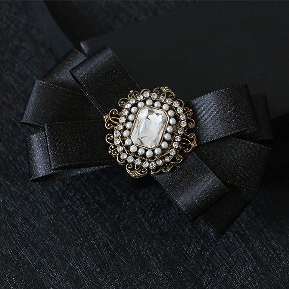 DYDONGWL Corbata Fina Hombre,Corbata de Moda Novio Diamante ...