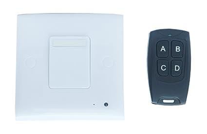 uyikoo Cámara espía para el hogar camuflada en interruptor, con sensor de detección de movimiento