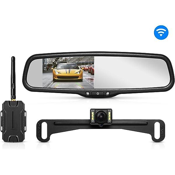 NEW FACTORY OEM 12 13 14 15 16 17 Nissan TITAN Auto Dim Rear View Mirror Compass
