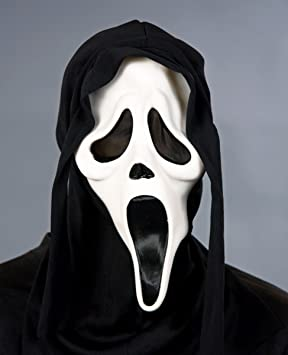 Adultos máscara de fantasma con capucha