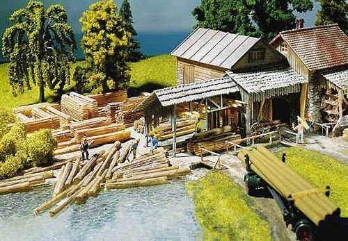 (LUMBER ASSORTMENT - FALLER HO SCALE MODEL TRAIN ACCESSORIES 180589 by Faller )