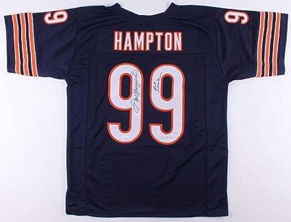 Signed Dan Hampton Jersey - Custom