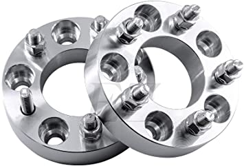 """2 USA MADE 5 x 4.50/"""" To 5 x 120mm Wheel Adapters 1.25/"""" Thick 12mm 1.5 Studs"""