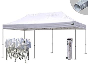 Eurmax 10 x 20 Premium Ez Pop up Canopy Instant Tent Wedding Party Tent Gazebo Shade  sc 1 st  Amazon.com & Amazon.com : Eurmax 10 x 20 Premium Ez Pop up Canopy Instant Tent ...
