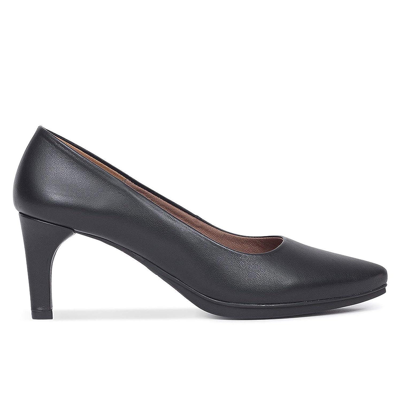 Mujer España Piel En Hechos Zapatos Salón Tacón REqx1