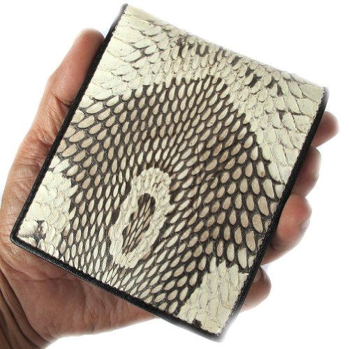 ON PRINT COBRA GENUINE WALLET HEAD SELL FOLD COMPLIMENTARY NATURAL WITH UNIQUE BI 1U8RWHUn