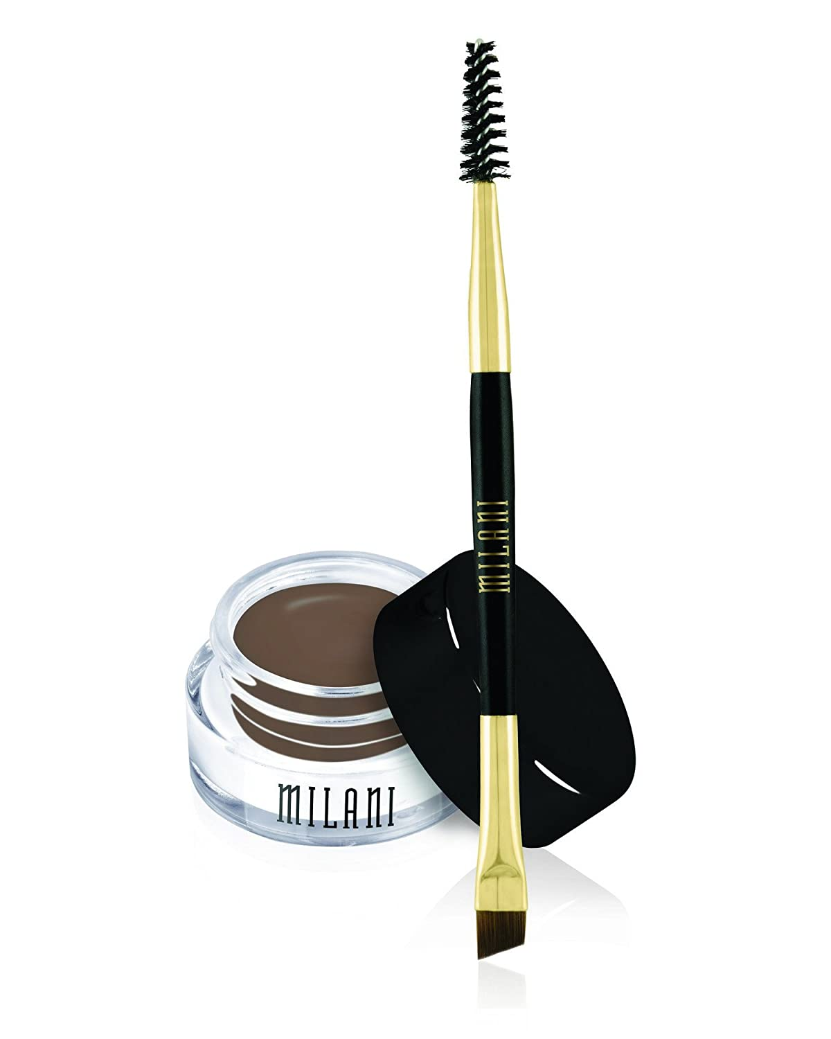 Milani Stay Put Brow Color, Dark Brown, 0.09 Ounce (Packaging May Vary)