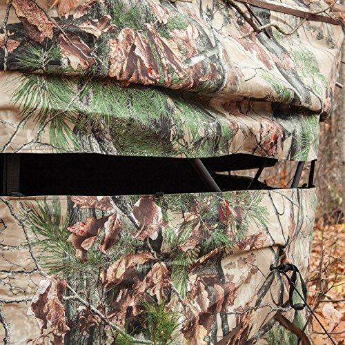 Barronett Blinds BX550BW Ox 5 Pop Up Portable 5-Sided Hunting Blind, Backwoods Camo by Barronett Blinds (Image #6)