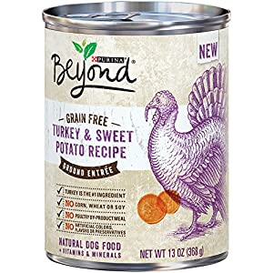 Purina Beyond Natural Grain Free Ground Wet Dog Food- 12-13 oz. Cans