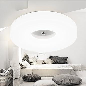 Modernes Design 24W LED Deckenleuchten Iron Frame Plus Acryl Donuts Lampe  Deckenlampe Zum Schlafzimmer, Wohnzimmer