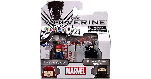 Amazon.com: Marvel Minimates el Clan de Wolverine serie 52 ...