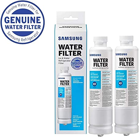 2 Pack Samsung DA29-00020B HAF-CIN//EXP Refrigerator Water Filter