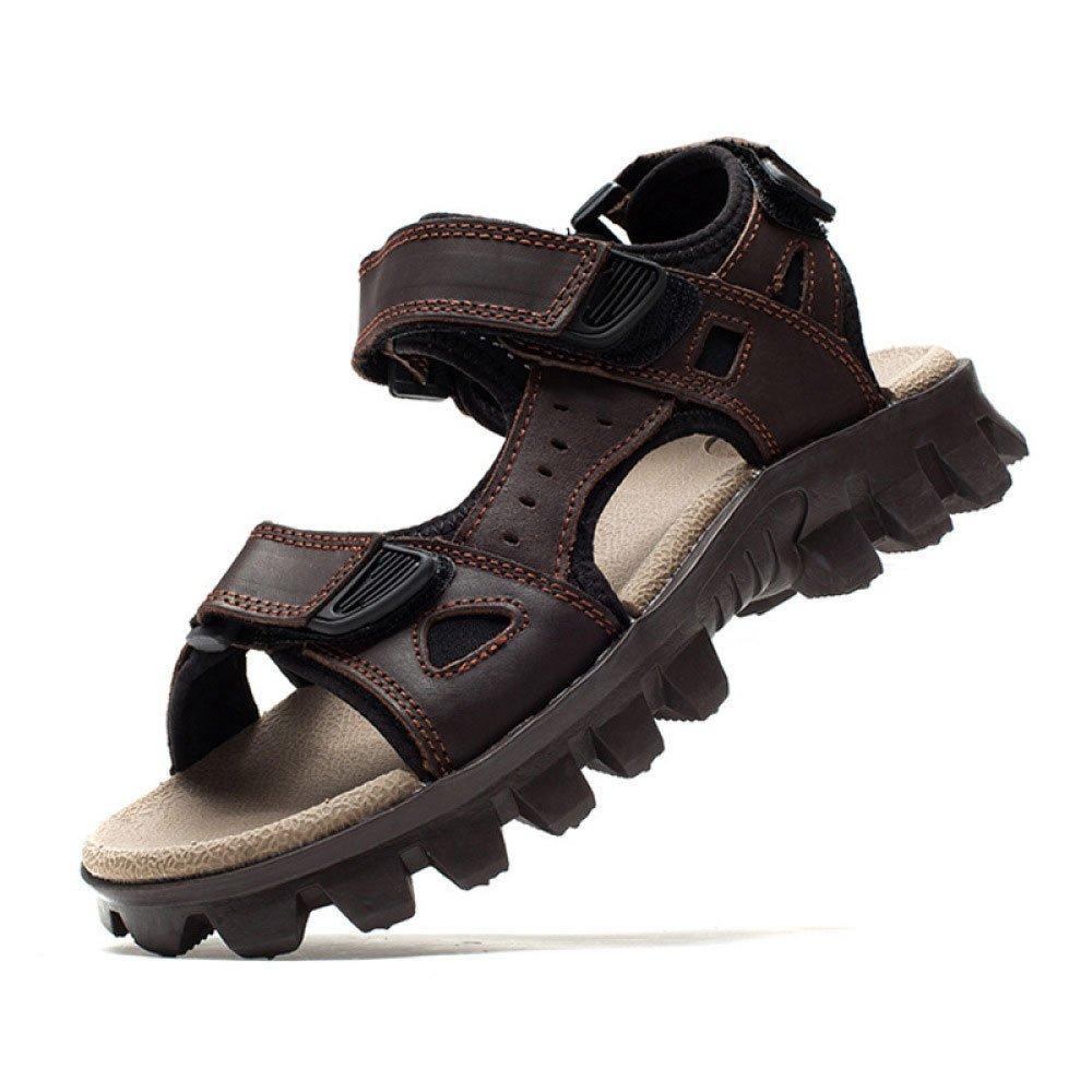 Sandalias para Hombre Zapatos De Playa Sandalias Informales para Hombres De Verano Zapatos para Hombres 40 EU Brown Brown