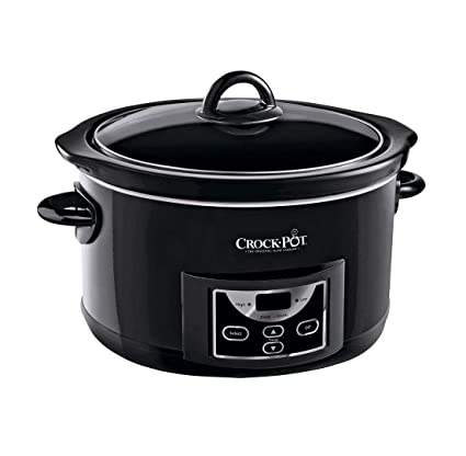fece7a544979 Image Unavailable. Image not available for. Colour: Crock-Pot SCCPRC507B-060  4.7L Countdown Slow Cooker - Black.