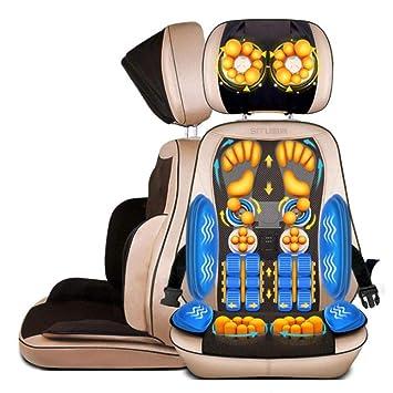 Beheizte Rückenmassage Sitzauflage Stuhl Massagegerät Kissen Lendenwirbelsäule