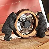 Black Bear Table Fan - OVERSTOCK