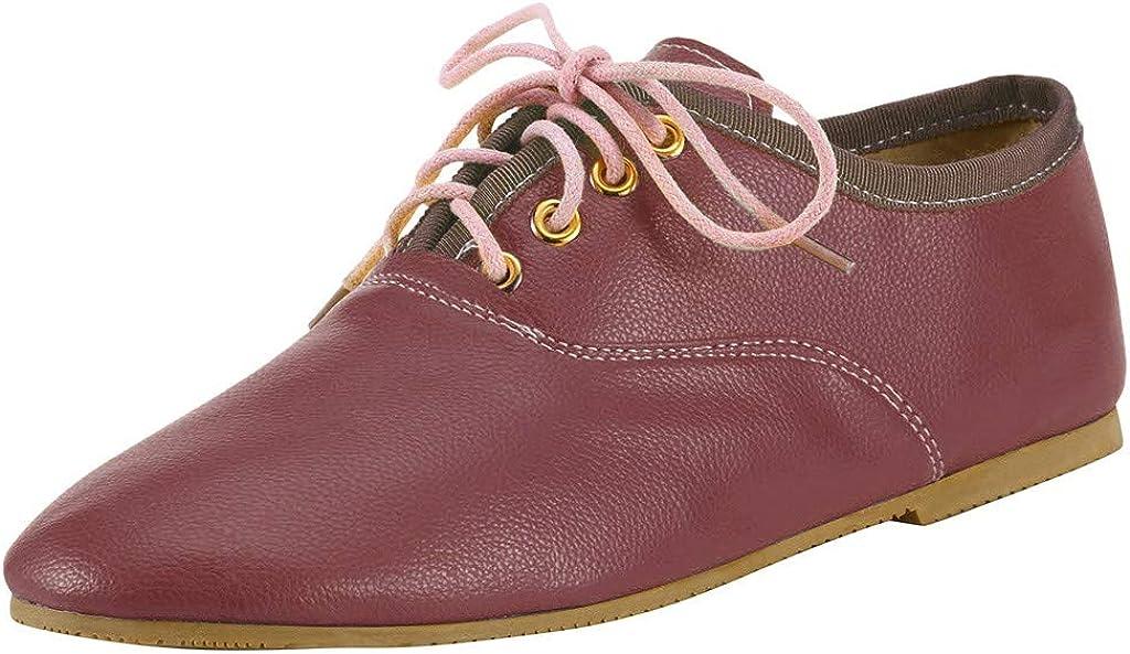 Amazon.com: Las mujeres de Encaje de Cuero Único Zapatos ...
