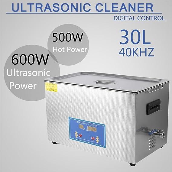 Amazon.com: Soberbarus - Limpiador ultrasónico de acero ...