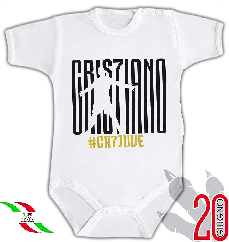 20 Giugno Body Bambino Fan Cristiano Ronaldo Tifoso Juventus