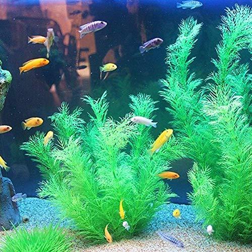gaeruite - Plantas Artificiales acuáticas de 26 cm de Altura, Plantas de Acuario de simulación Viva para Acuario, para decoración de Acuario, Morado, ...