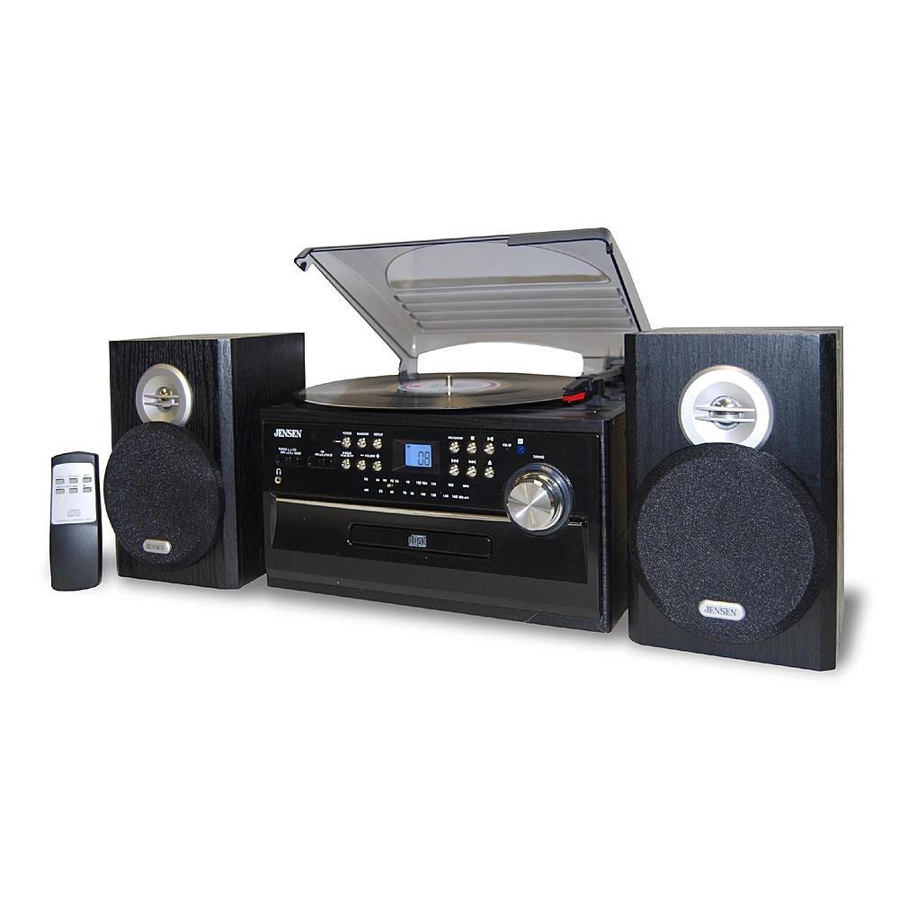 Jensen Disco Cinturón Turntable W/AM/FM, cartucho, Cassette ...