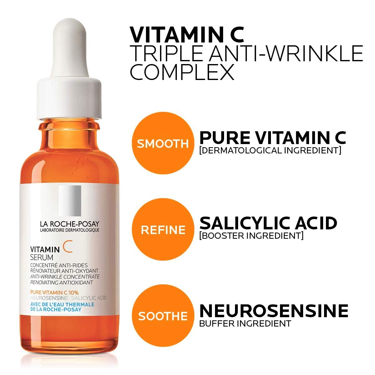 La Roche Posay Pure Vitamin C Serum Amazon De Premium Beauty