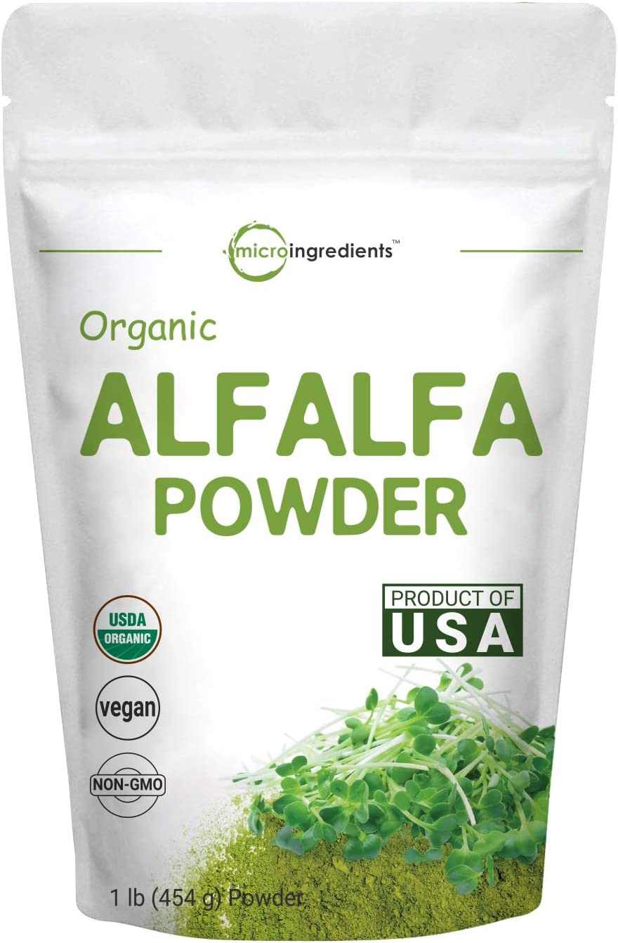 Sustainably US Grown, Organic Alfalfa Po…