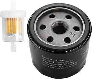 Oil Filter Replacement for John Deere D100 D105 D110 D120 D125 D130 D140 D150 D155 D160 D170 Lawn Tractor Replace# AM119567 AM125424 GY20577 LG4153 LG492932S