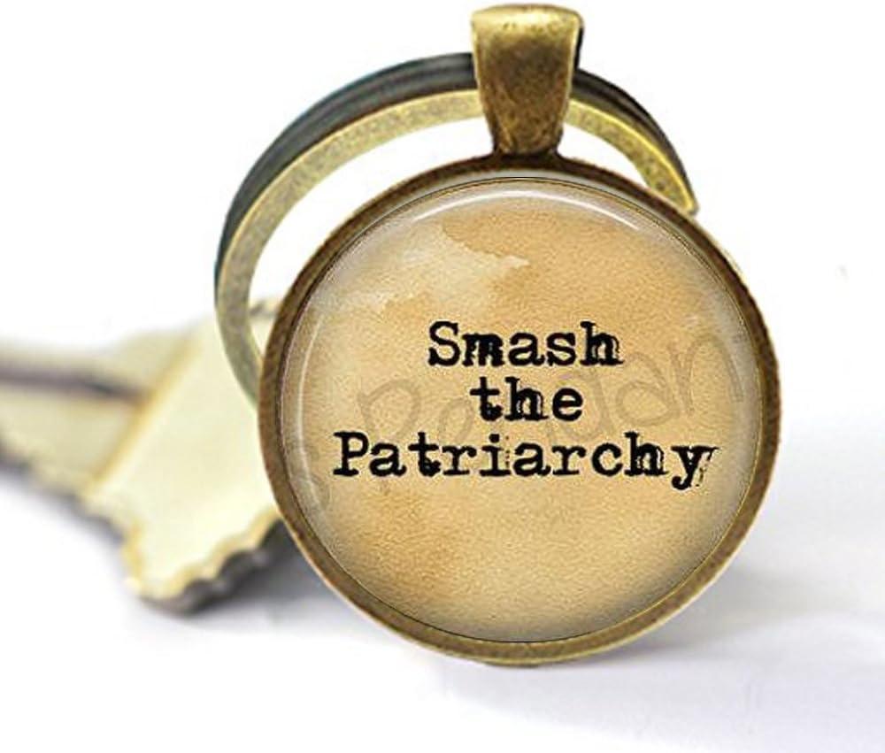 Smash The Patriarchy llavero – Misandry – Lágrimas para hombre – Feminismo – Joyería Feminista – Mujer Power – Llavero feminismo: Amazon.es: Juguetes y juegos