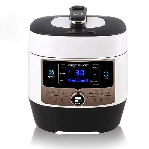 Aigostar Panda 30HGZ - Olla a presión multifunción y cocinado ...