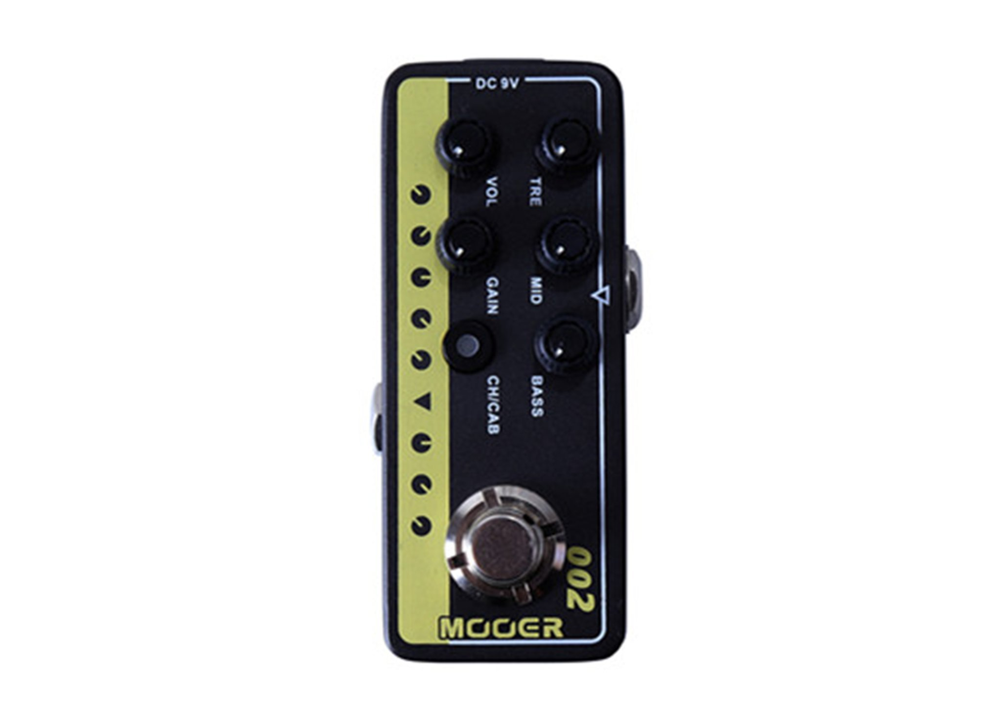 Mooer Micro Preamp 002 UK Gold 900 w/Bonus RIS Pick (x1) 6943206792116