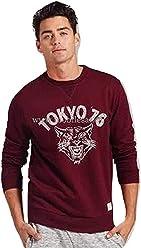 08a94c886c323 Adam Levine Men s Retro Tiger Graphic Sweatshirt. Size Large